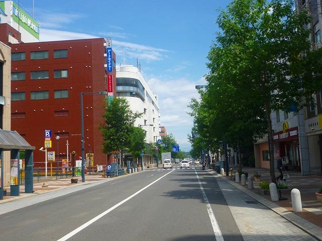 駅前通 西2条南9丁目(平成27年7月)