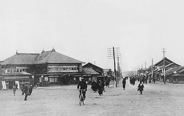 帯広駅前(大正8年)