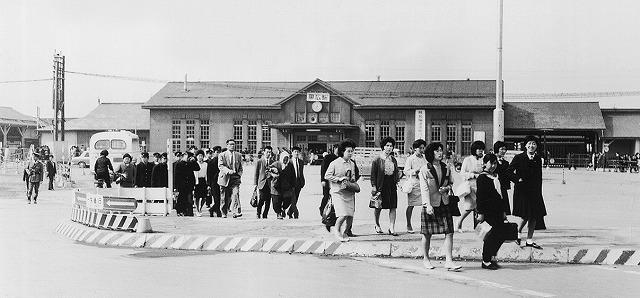 帯広駅(昭和30年前後のころ)