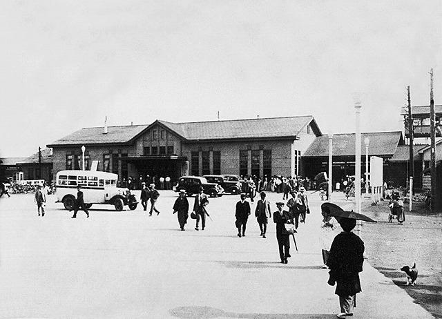 新装の帯広駅(昭和5年)